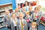 Schoolchildren head to the polls for elections